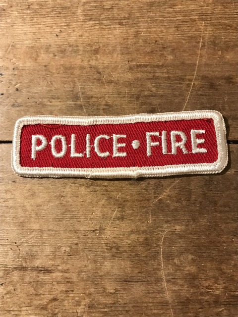 vintage fire police patch (22)