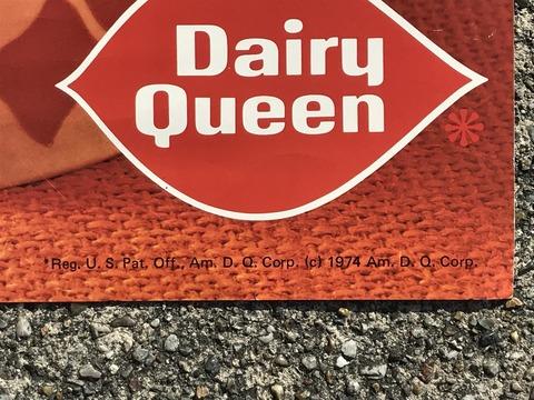 Vintage Dairy Queen Dennis The Menace Poster (10)