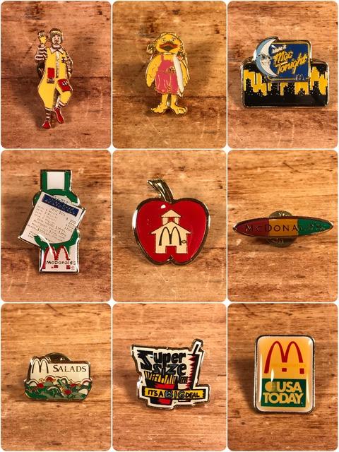 Vintage McDonald's Metal Pins (1)