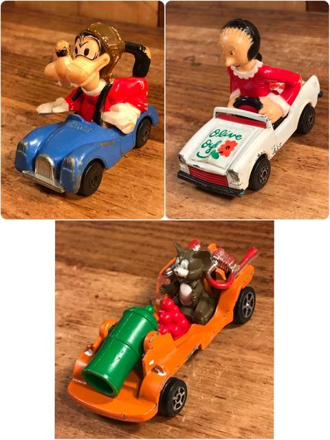 Vintage Character Die Cast Mini Car