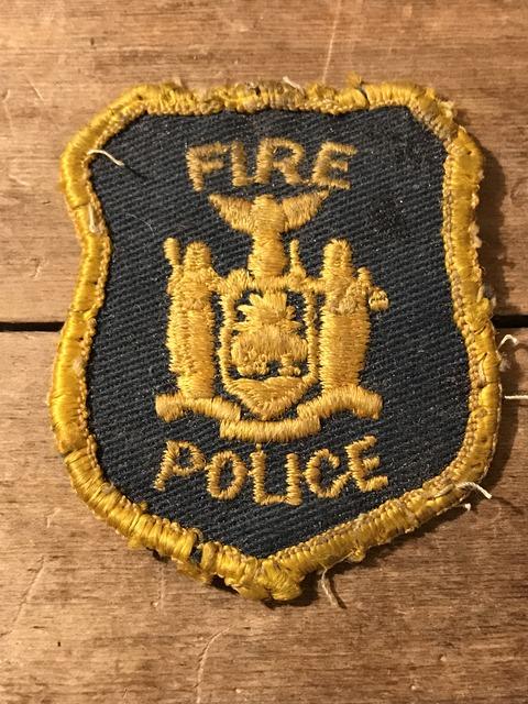 vintage fire police patch (2)