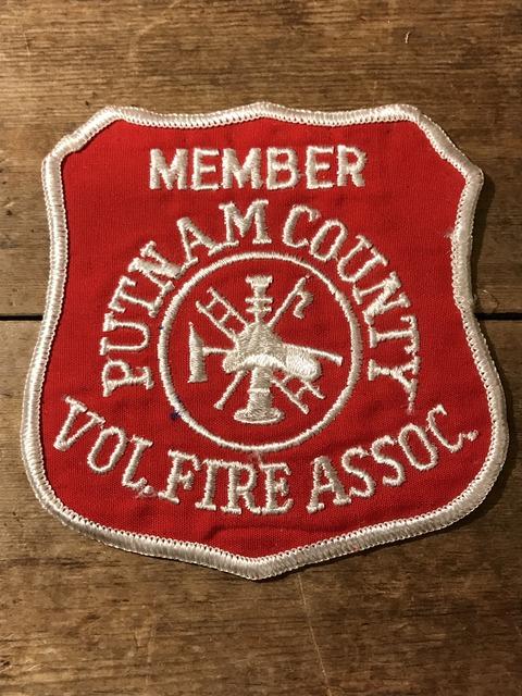 vintage fire police patch (123)