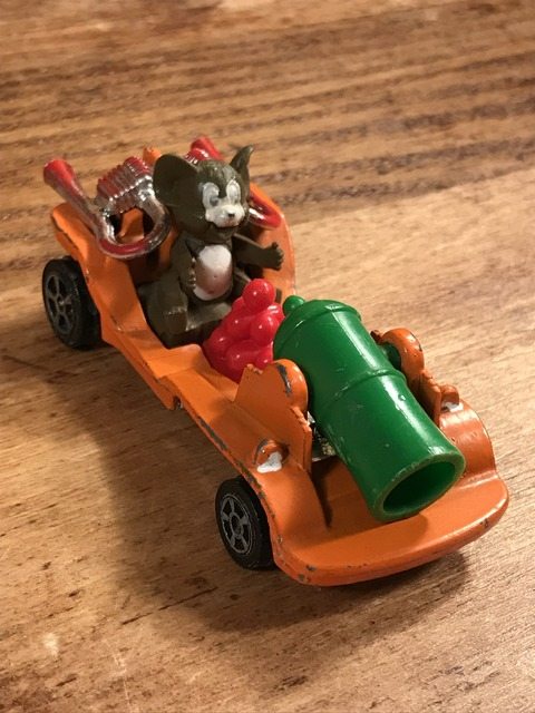 "Vintage Corgi Tom & Jerry ""Jerry"" Die Cast Mini Car (3)"