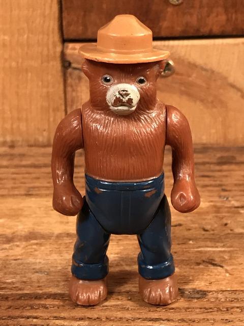 Vintage Smokey Bear Plastic Figure (1)