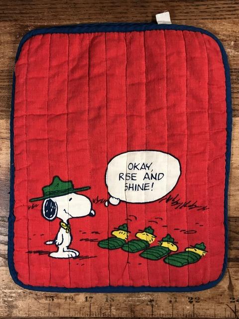 "Vintage Peanuts Snoopy & Woodstock ""Beagle Scout"" Bag (1)"
