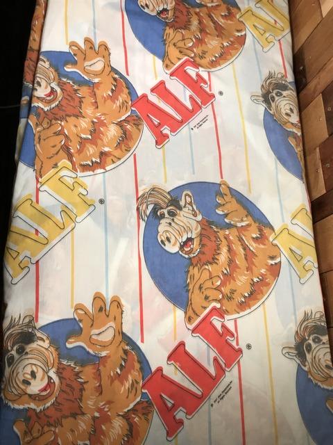 "Vintage ALF ""Alien Life Form"" Box Sheet (2)"