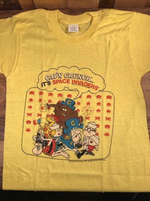 """Vintage Cap'n Crunch """"It's Space Invaders"""" Kids T-Shirt (2)"""