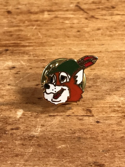 "Vintage Disney ""Robin Hood"" Pins (1)"