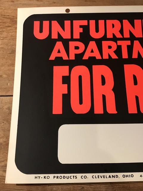 vintage unfurnished apartment for rent hardware sign (5)