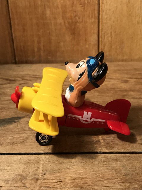 vintage disney mickey mouse airplane minicar (4)