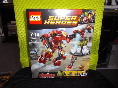 レゴ スーパーヒーローズ ハルクのバスタースマッシュ