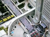 東京マラソン, 西新宿都庁前