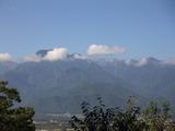 安曇野から見た上捻岳