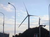 東京ゲートブリッジ近くの巨大風車、なんなの?