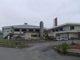 陸前高田市民体育館の全景、July 14. 2012