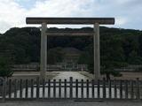 京都伏見にある明治天皇御陵