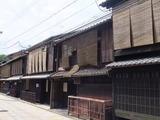 祇園北新橋通り 有名料理屋が多い