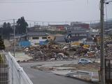 自宅から、手前まで津波が、5.1,2011