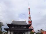 懐かしの東京タワーと増上寺