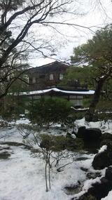落雪のこだまがかえる東山