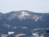 冬の束稲山(平泉)