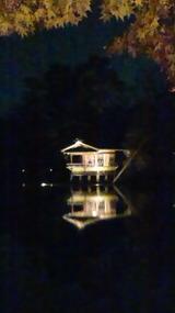 幻想的な兼六園の能楽堂, 24 November 2012