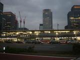 建設がすすむ東京駅八重洲口,Nov 2010