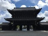 東本願寺御影堂門 (境内より)