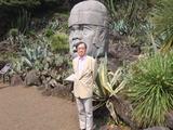 サボテン公園、40年前はピラミッド型の温室だけだった?