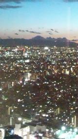 サンセット, 孤独な都会に灯りが点り始める・・・