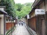 秀吉の菩提を弔う「高台寺」に続く小道