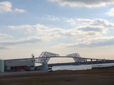 Tokyo Gate Bridge! We are going to be able to drive passing through the bridge since Feb.12th.