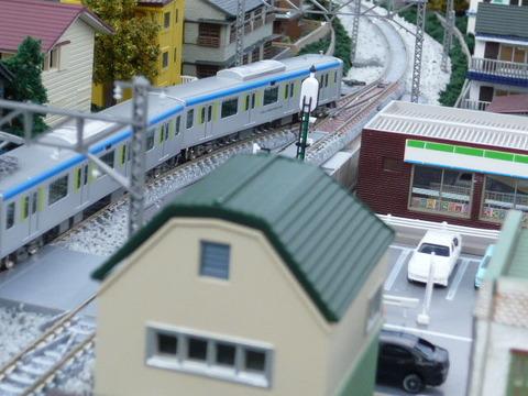 新川辺信号所付近と東武60000系その3