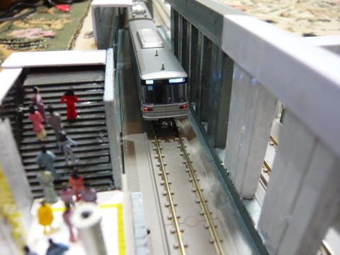 飢乃町駅と東京メトロ03系その3