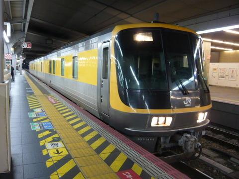 2018年2月撮影、大阪駅にてキヤ141