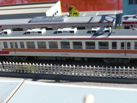 複線ボード(18')と区間快速47列車その4