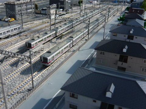 秋日部検修区(R)と東武20000系と20070系その2