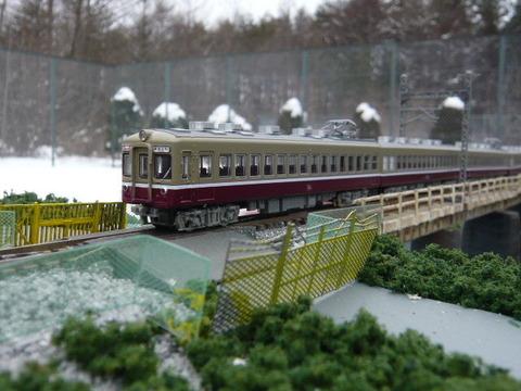 北江戸川橋梁と東武1700系Cその2