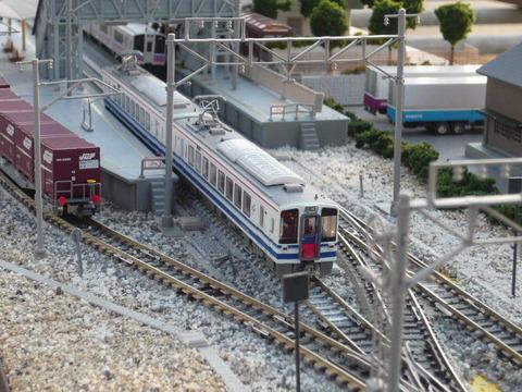 羽度大木駅(18')とHK100形