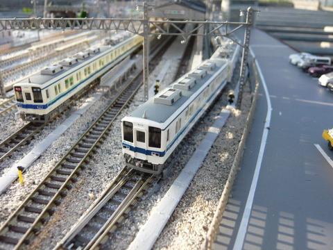 東武8000系MAと鉄コレ8000系
