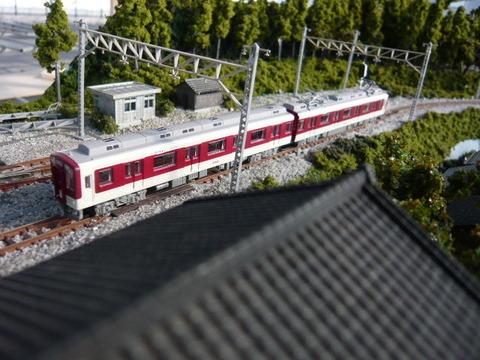 しらない温泉駅付近と近鉄9000系その3