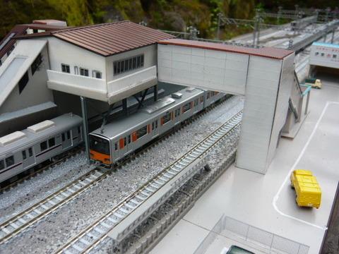 北秋日部駅(R)と東武50050系その2