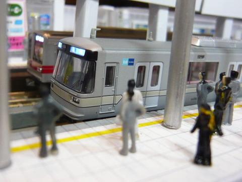 東京メトロ03系と東武20070系その2