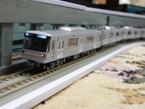 飢乃町駅と東京メトロ03系その4