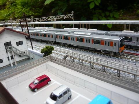 北秋日部駅(R)と東武50050系その3