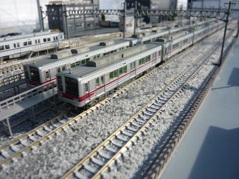 秋日部検修区(R)と東武20000系と20070系その1