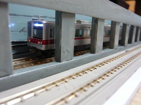 飢乃町駅付近と東武20070系その5
