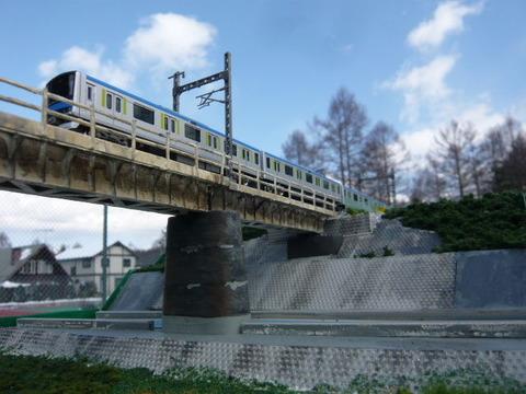北江戸川橋梁と東武60000系その14