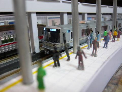 飢乃町駅と東京メトロ03系その6