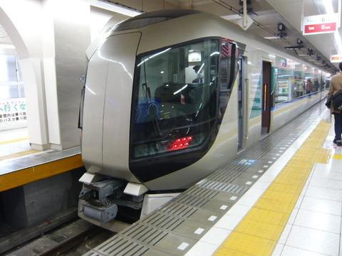 2018年2月撮影、浅草駅にてリバティその1